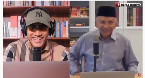 Amien Rais: Jokowi dan Luhut adalah 2 Orang Paling Diminta Tanggung Jawabnya di RI