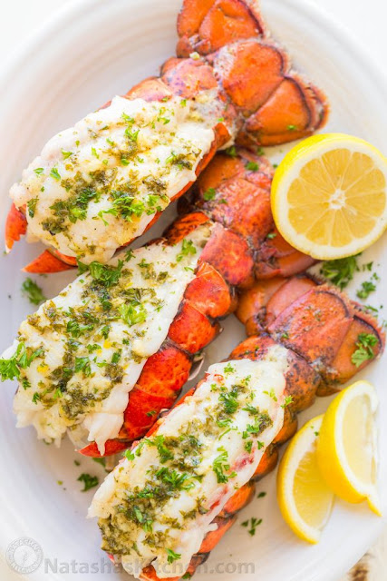 Lobster Taíls Recípe wíth Garlíc Lemon Butter