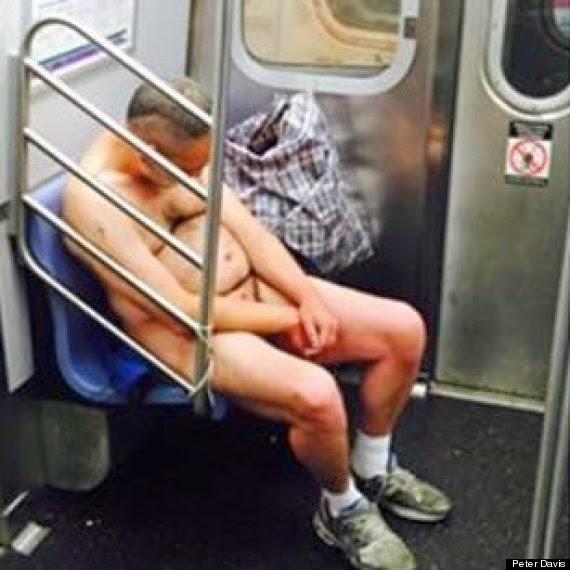 Homem Pelado No Metrô Nova York e No Central Park (NSFW)