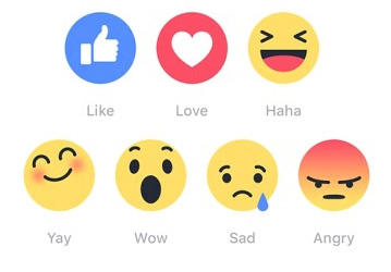 Facebook's New Emoji - Likes