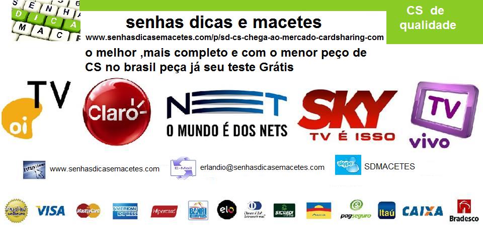 cs para azamericas e azbox brasil