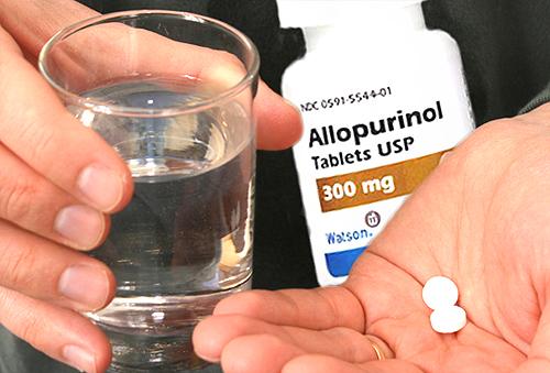 Turunkan Kadar Asam Urat dengan Allopurinol
