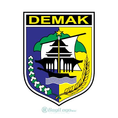 Kabupaten Demak Logo Vector