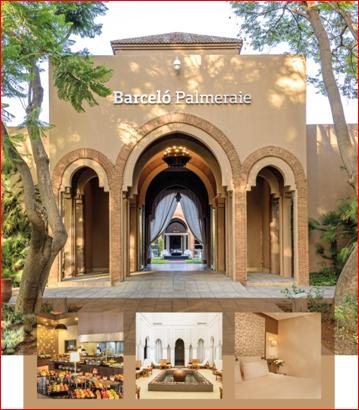 """جوائز السفر العالمي جائزة أفضل منتجع """"شامل"""" في المغرب"""