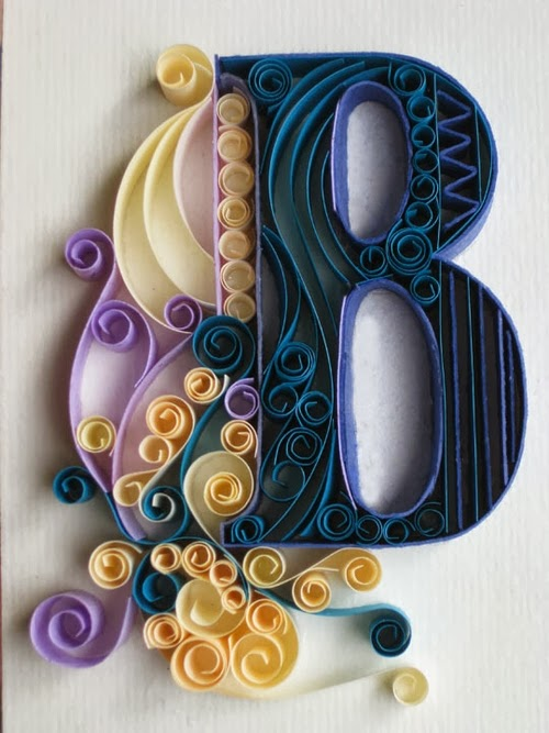 02-B-Quilling-Illustrator-Typographer-Calligrapher-Paper-Sculptor-Sabeena-Karnik-Mumbai-India-Sculptures-A-to-Z-www-designstack-co