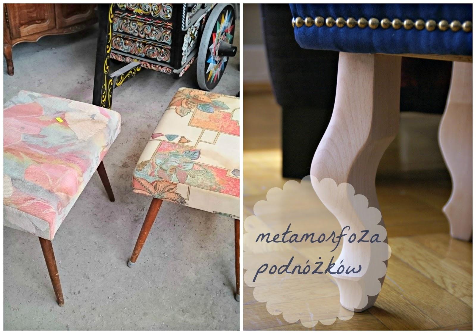 Metamorfoza podnóżków, czyli tapicerowanie dla żółtodziobów