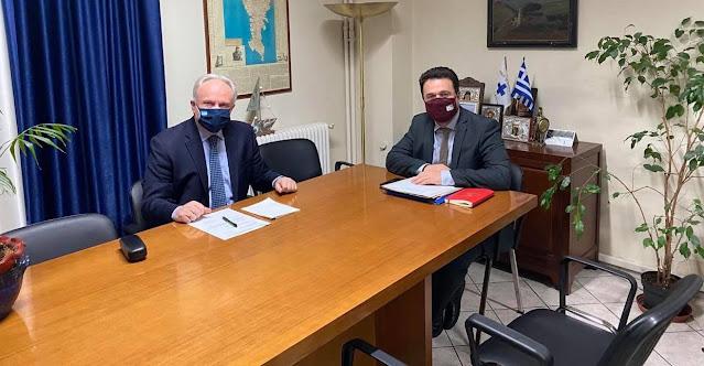 Συνάντηση Ανδριανού με Στρατάκο για ενίσχυση των παραγωγών εσπεριδοειδών της Αργολίδας