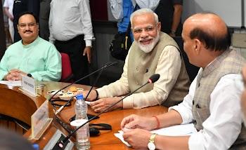 एक राष्ट्र, एक चुनाव:पीएम मोदी की अध्यक्षता में हुई सर्वदलीय बैठक