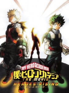 Xem Anime Học viện siêu anh hùng Academia Movie 2 - My Hero Academia the Movie 2: Heroes:Rising VietSub