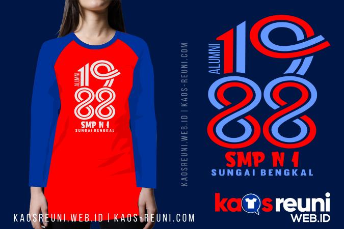 Kaos Reuni Type Tunik Custom Sesuai Ukuran Request - Sablon Kaos Reuni Online
