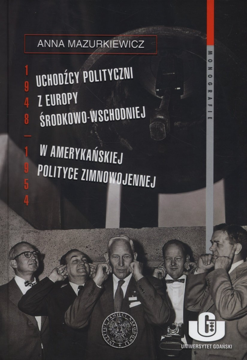Anna Mazurkiewicz's New Book On European Exiles In The Us