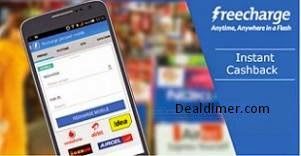 Recharges & Bill Payments Rs. 25 Cashback on Rs. 50 – FreeCharge