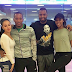 Majoro & Khune workout together with their baby mama's
