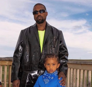 Kanye West and Saint West spotted boarding jet in Wyoming after a taut fight with Kim Kardashian