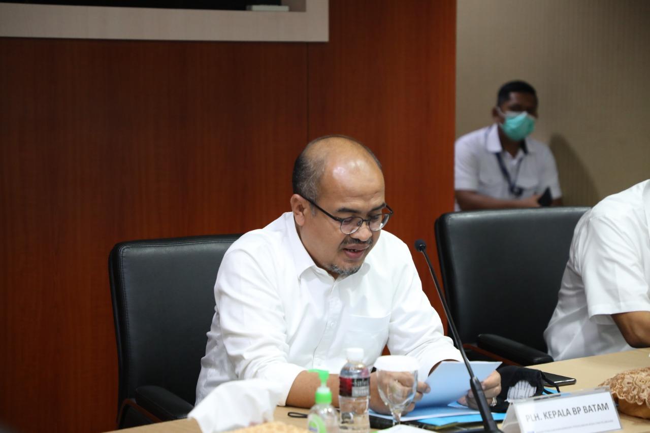 Kunjungi BP Batam, Ombudsman Perwakilan Provinsi Kepri Sampaikan 13 Laporan Masyarakat