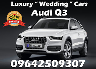luxury wedding cars Audi Q3