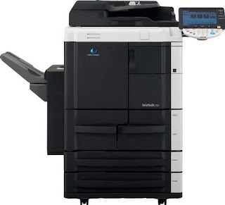 Konica Minolta Bizhub 751/601 Driver Printer Download