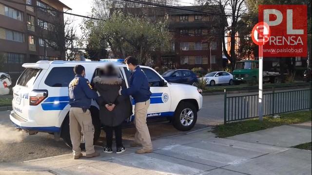 Prófugo de la justicia fue capturado por la PDI