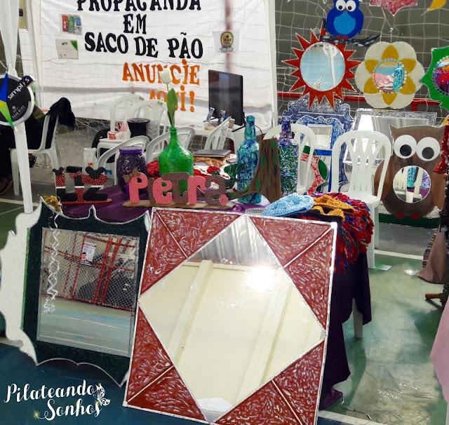 peças com espelho, feng shui, letras decorativas, expo bem estar, Ciana Andrade, Pilateando Sonhos