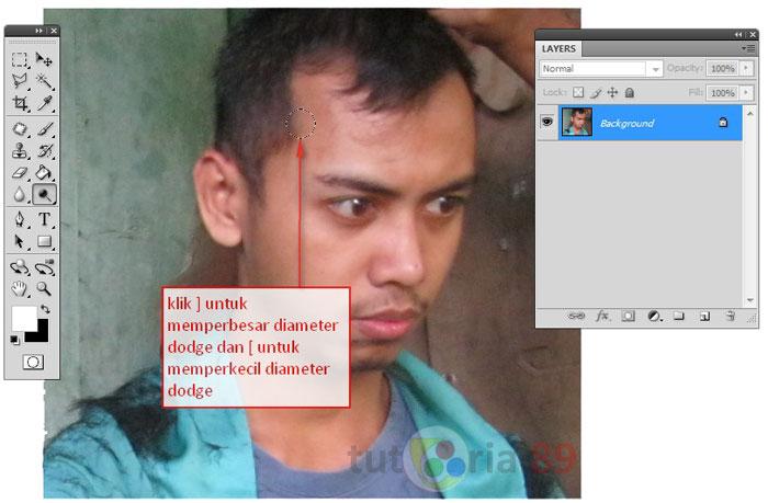 Cara mencerahkan wajah yang kusam dengan photoshop