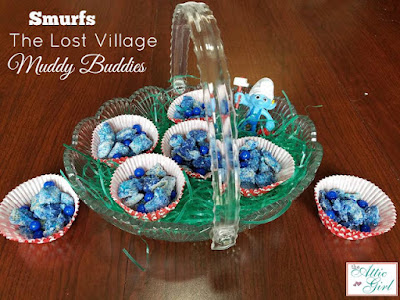 Smurfs the lost village party food