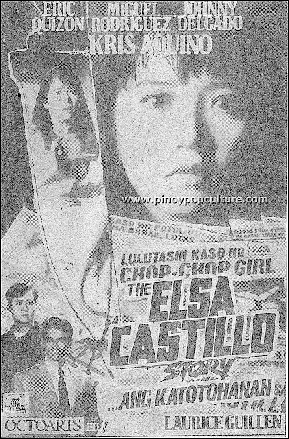 The Elsa Castillo Story, Kris Aquino, Chop-Chop Lady, OctoArts Films, Laurice Guillen
