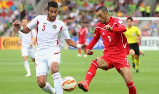 ملخص مباراة فلسطين والاردن اليوم 15/1/2019 Palestine vs Jordan live AFC Asian Cup