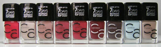 Catrice Cosmetics NEW IcoNails Gel Lacquer