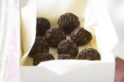 Chocolate hazelnut truffles desserts recipes
