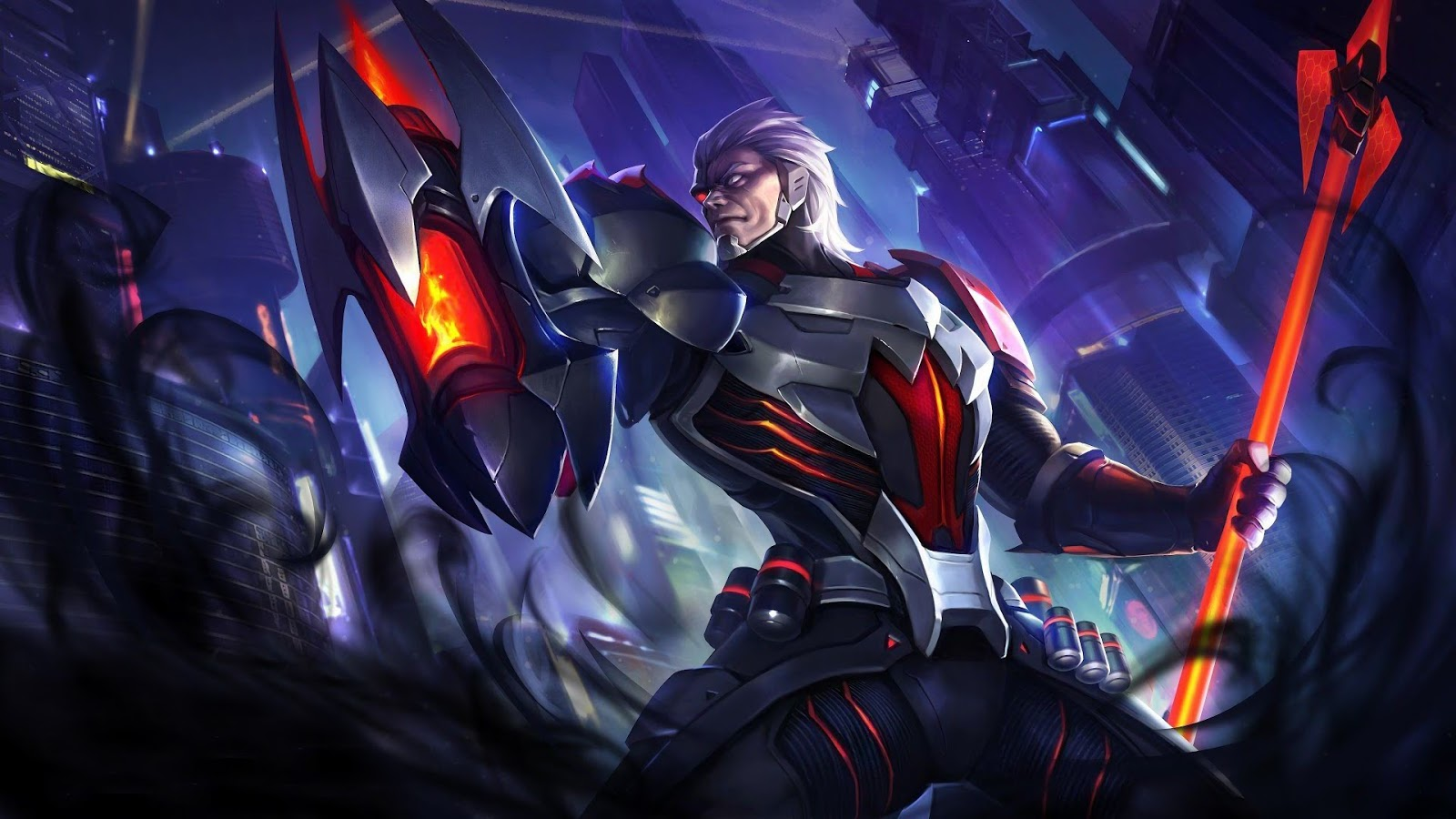 Wallpaper Moskov Snake Eye Commander Skin Mobile Legends Full HD for PC