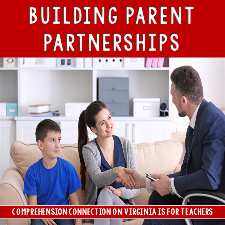 Get your year started right by building partnerships with your parents. This post is filled with ideas to help you have a positive school year.