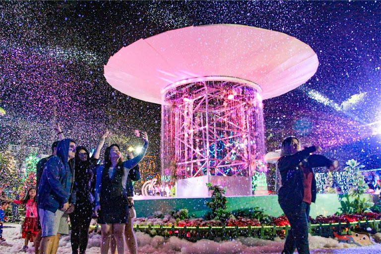 Experience Magic in Christmas Village, Baguio Country Club