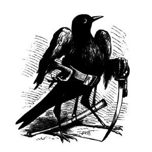 Goetia - Caim (ilustração) 2