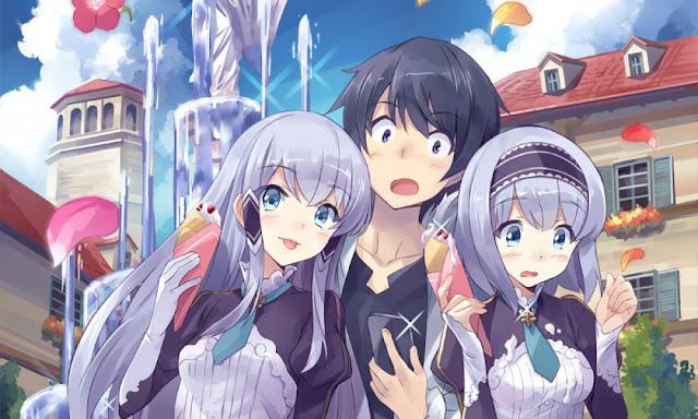 Novelas Isekai wa Smartphone to Tomo ni tendrán anime en verano