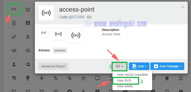 Cara Menambahkan Icon dalam Postingan Blogger