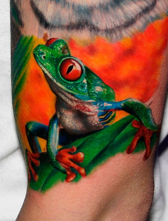 What is the meaning of the Golden Toad tattoo pattern