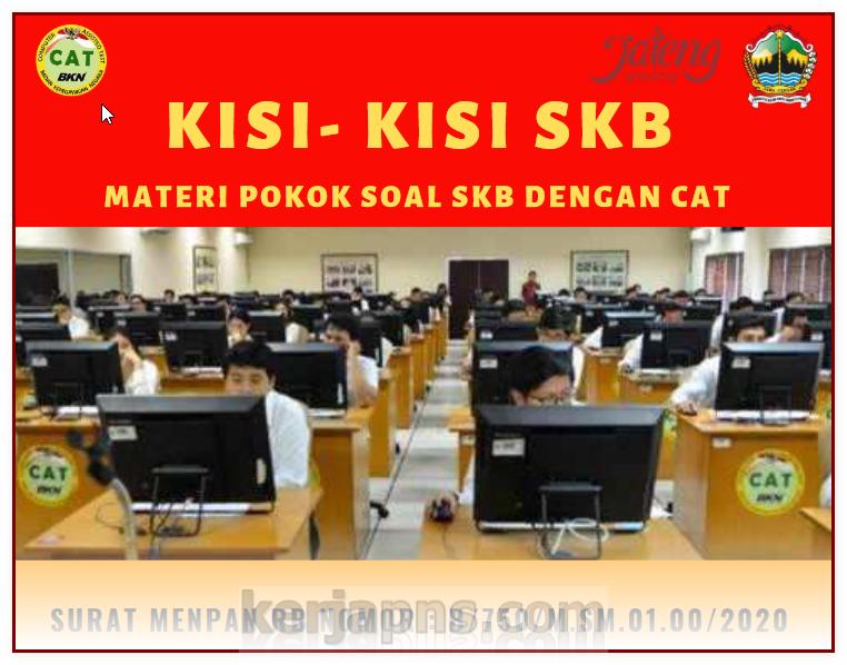 Kisi Kisi Soal Skb Cpns 2019
