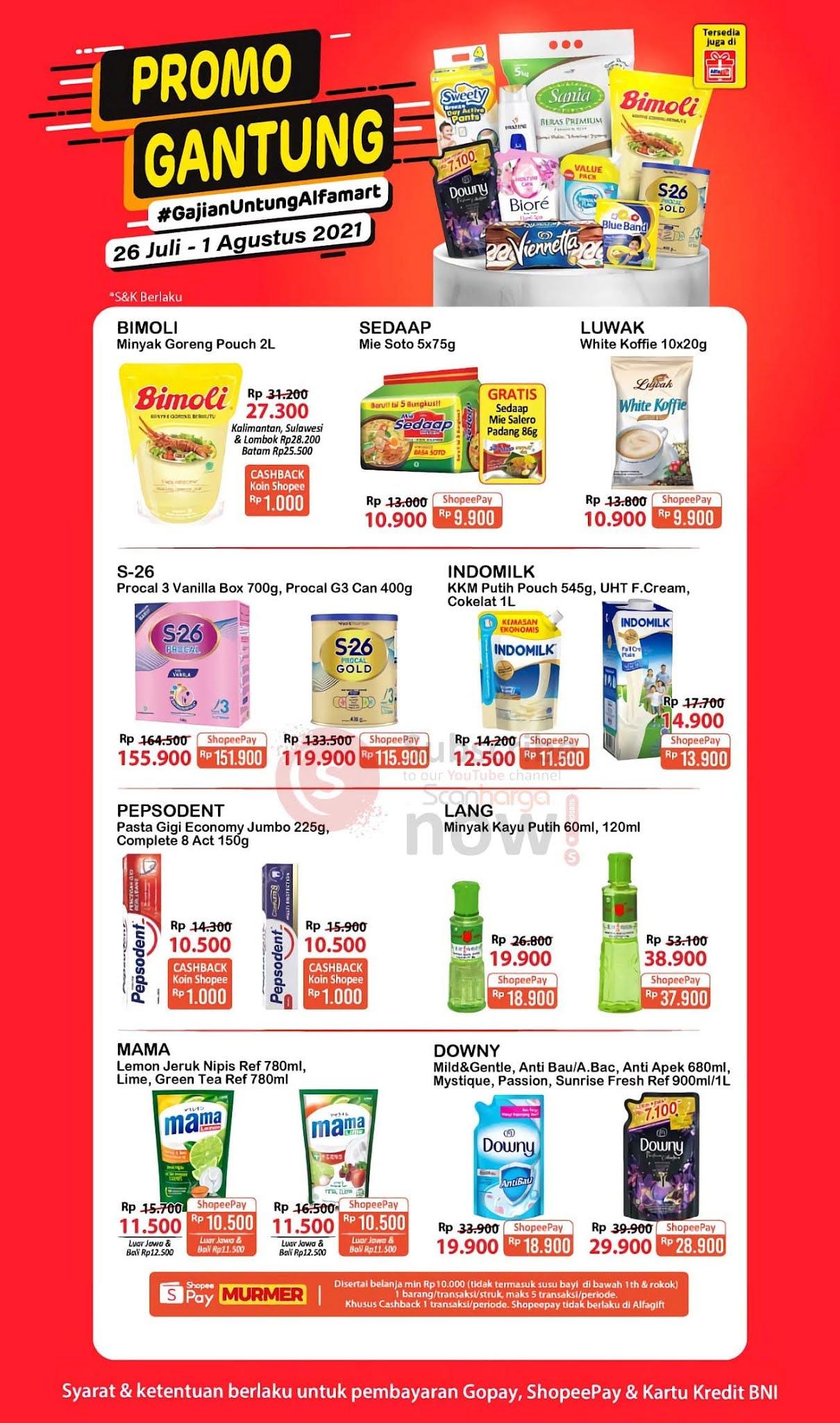 Katalog Promo JSM Alfamart 26 Juli - 1 Agustus 2021 1