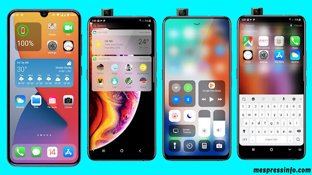 كيفية تحويل هاتف Android لشكل iPhone (بدون روت) - أفضل لانشر أيفون للأندرويد