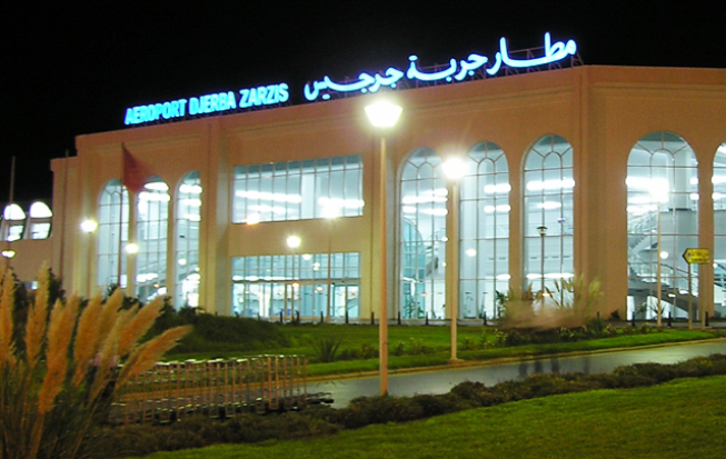 مطار جربة جرجيس الدولي مليتة سابقا Djerba–Zarzis International Airport