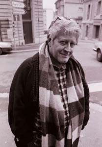 Hugo Pratt pictured in 1989