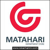 Lowongan Kerja Matahari Department Store Jakarta Terbaru 2021