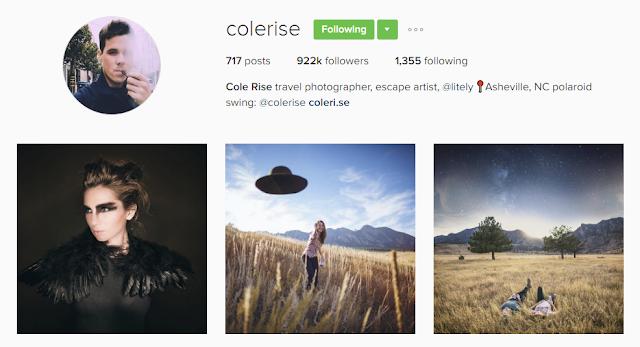 Follow @colerise on Instagram