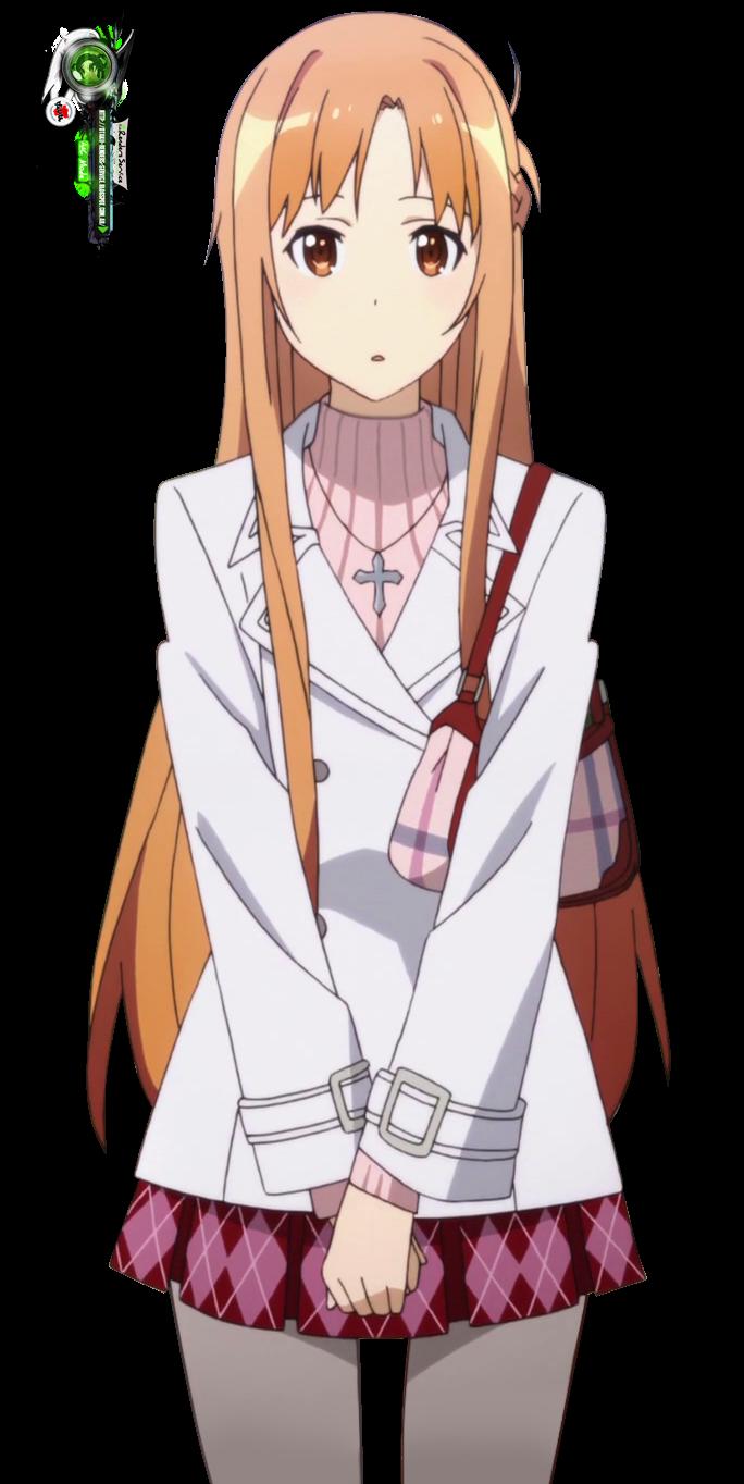 Sword Art Online:Asuna Yuuki Mega Cute Date Winter Render ...