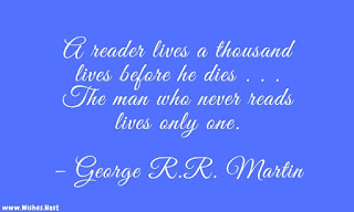 life and reading quote