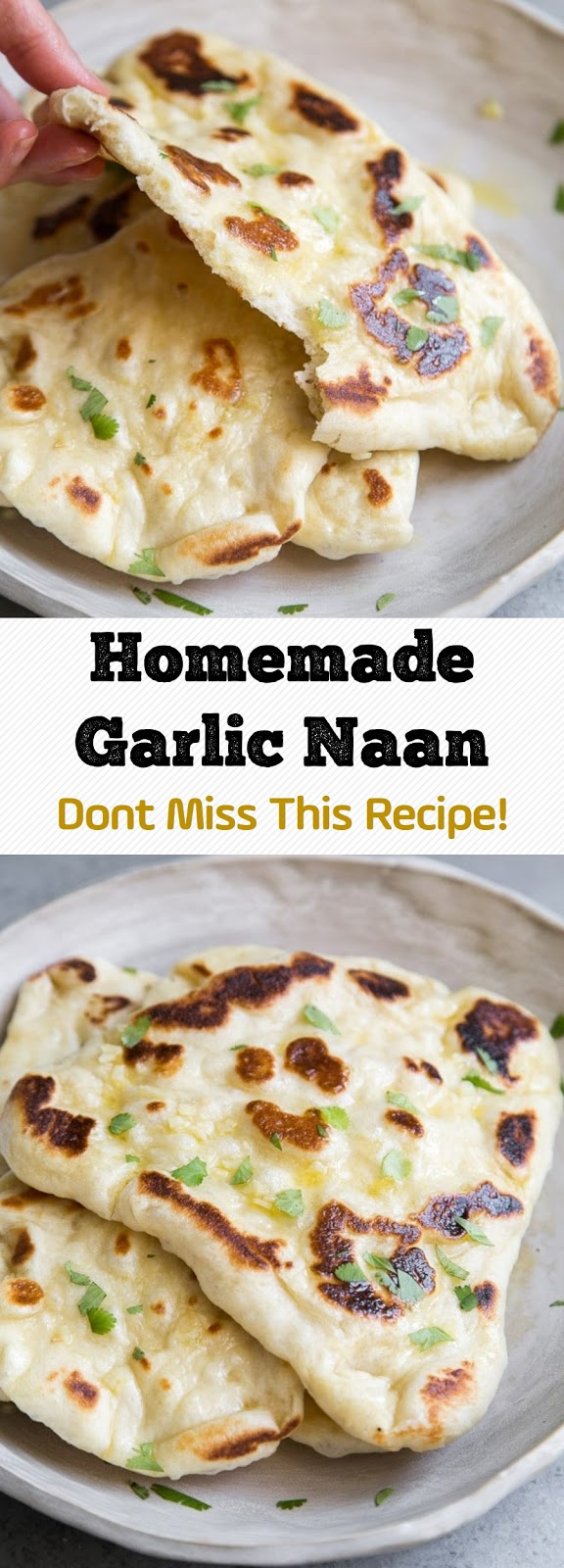 Homemade Garlic Naan - Dont Miss This Recipe!