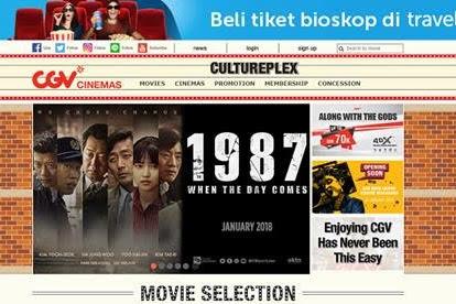 Inilah 5 Cara Mudah Pesan Tiket Bioskop secara Online