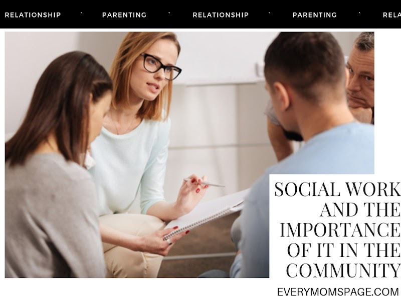 Social Work And The Importance Of It In The Community