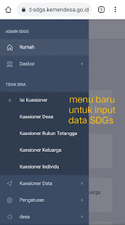 Cara Masuk Dashboard Aplikasi SDGs Desa Tampilan Baru 2021