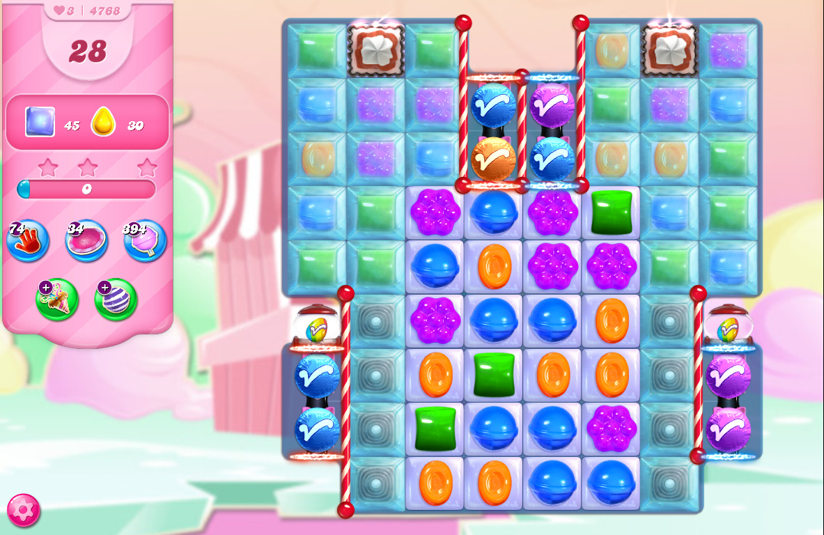 Candy Crush Saga level 4768